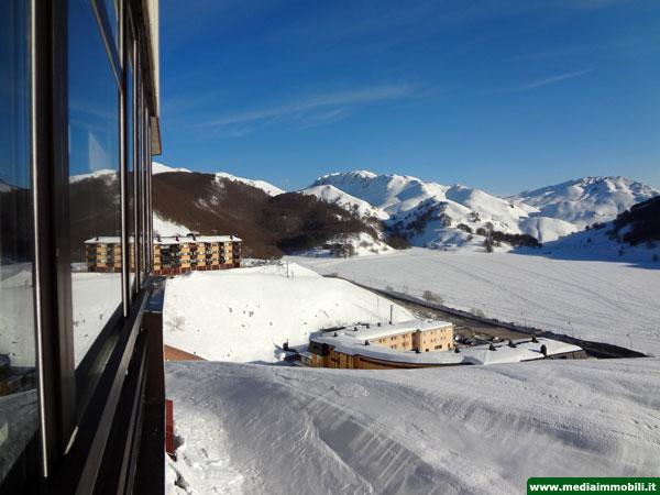 Appartamento trilocale con garage in vendita a campitello - Residence sulle piste da sci con piscina ...