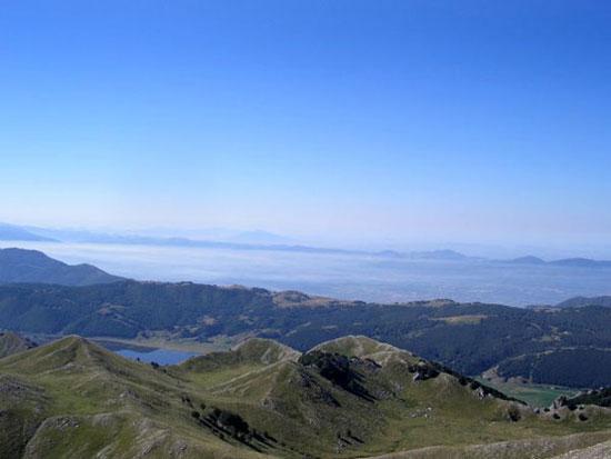 Il lago Matese