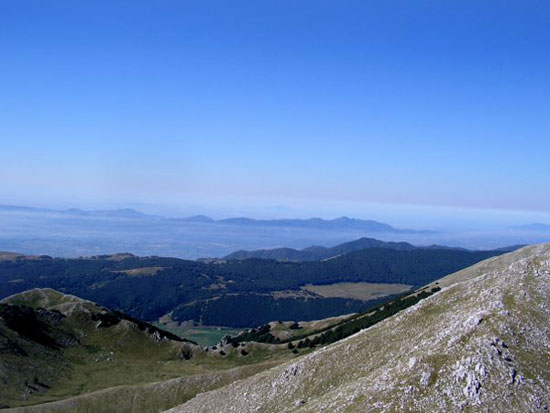 Panorama sulla Campania